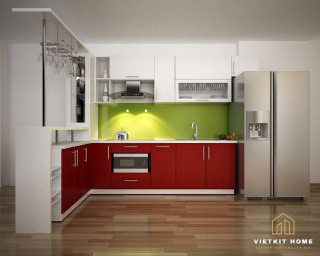 Tủ bếp Acrylic- Nội Thất Vietkit Home