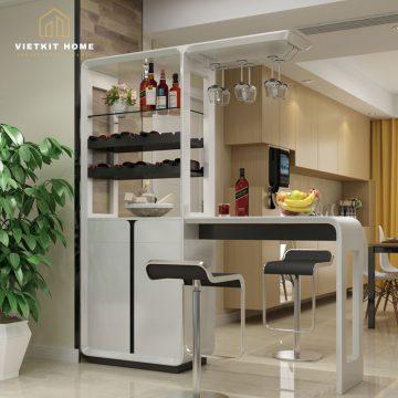 Xưởng Nội Thất Tủ Bếp Có Quầy Bar tại Hà Nội- Vietkit Home